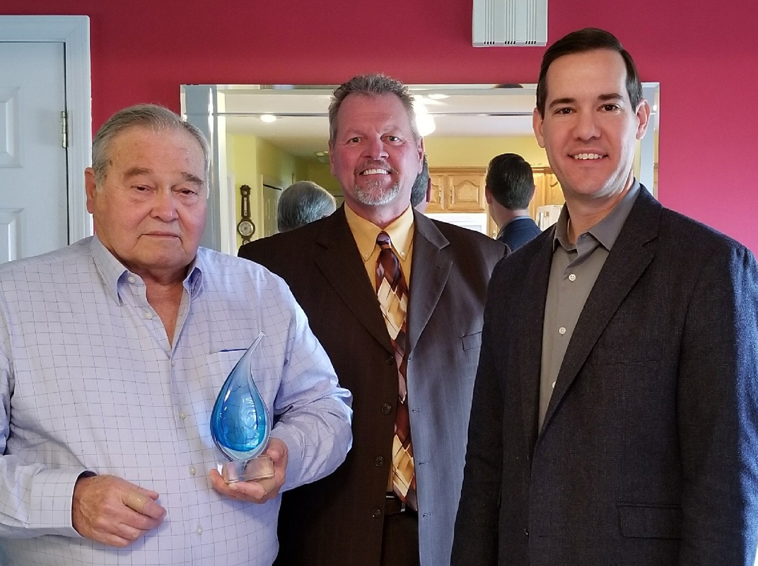 Jim McNeal, David McWhorter, Evan G. Thayer Boultinghouse Funeral Home, Enduring Service Award